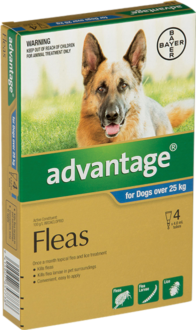 Advantage Flea Treatment for Dog 25kg+