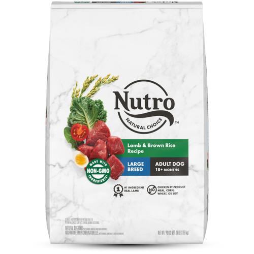 Nutro Natural Choice Large Breed Adult Lamb & Brown Rice Dry Dog Food