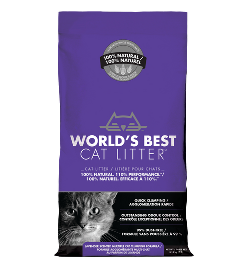 Worlds Best Cat Litter-Scented Multiple Cat