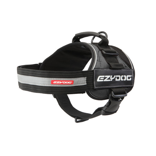 EzyDog Convert Harness Charcoal
