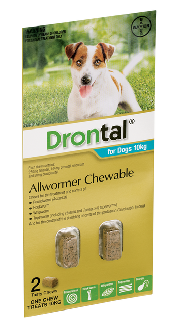 Drontal Chewable Dog Worm Treatment