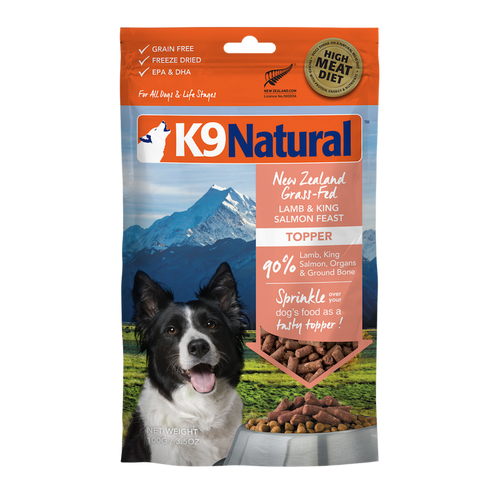 K9 Natural Lamb & Salmon Feast Topper For Dogs