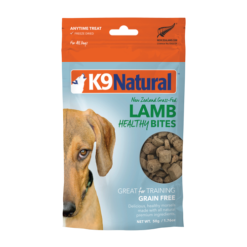 K9 Natural Lamb Healthy Bites Freeze Dried Dog Treats