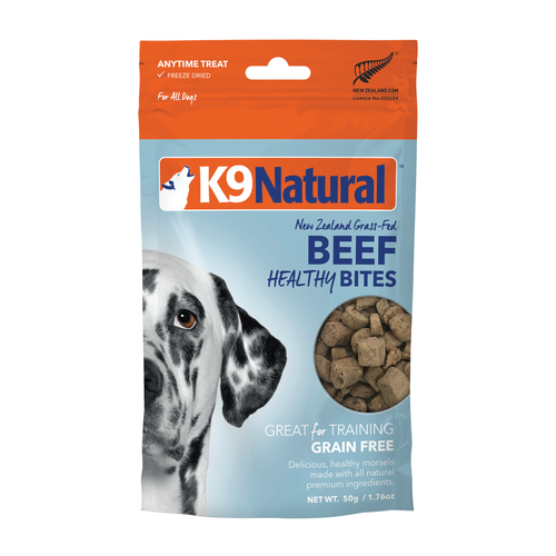 K9 Natural Beef Healthy Bites Freeze Dried Dog Treats