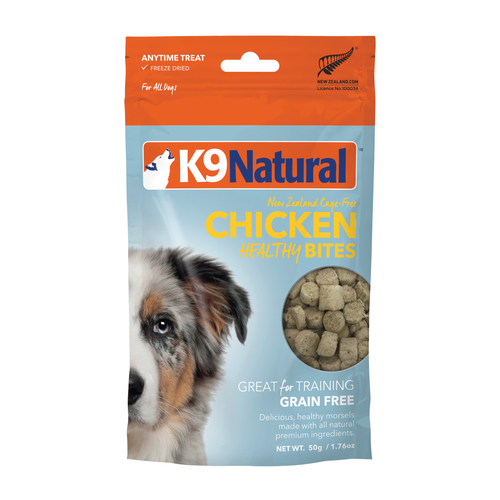 K9 Natural Chicken Healthy Bites Freeze Dried Dog Treats