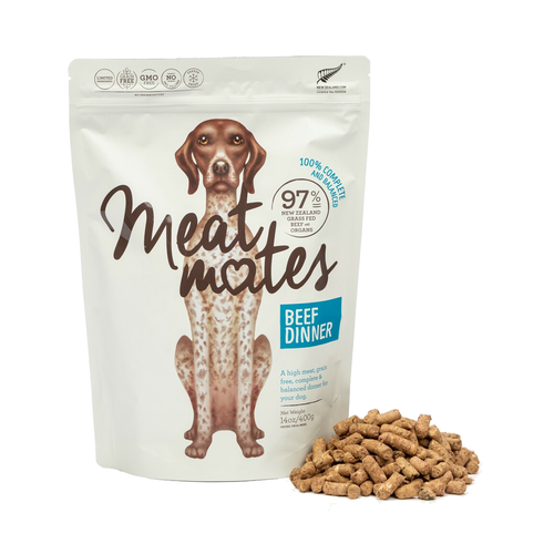 Meat Mates Beef Dinner Freeze Dried Dog Food