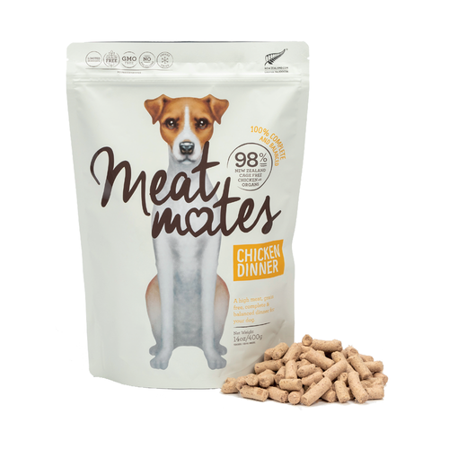 Meat Mates Chicken Dinner Freeze Dried Dog Food