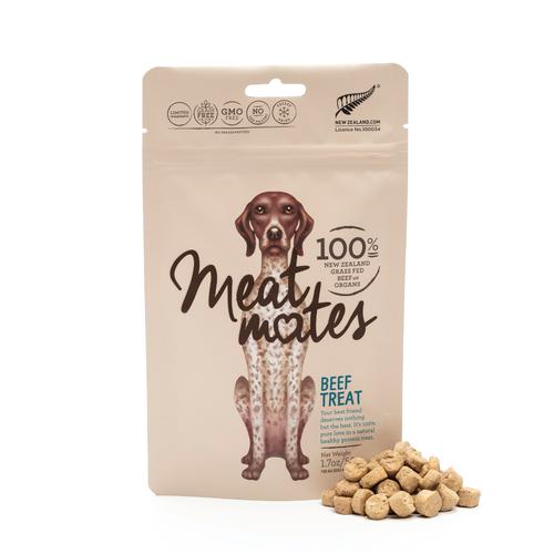Meat Mates Beef Grain Free Freeze Dried Dog Treats