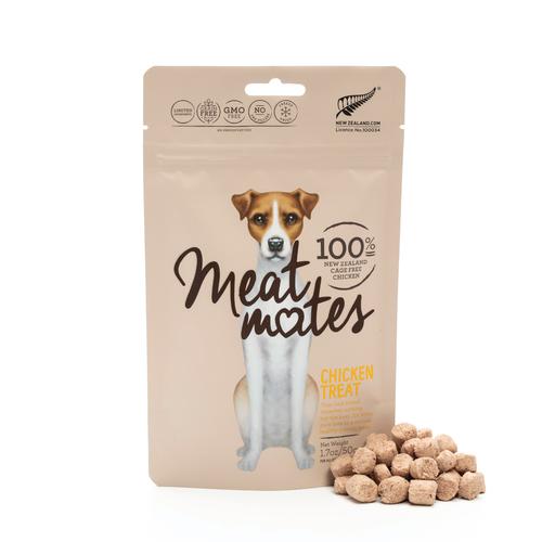 Meat Mates Chicken Grain Free Freeze Dried Dog Treats