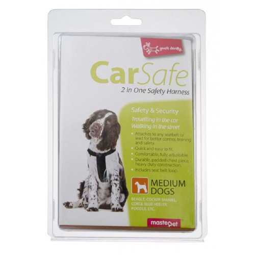 Yours Droolly Dog Car Harness