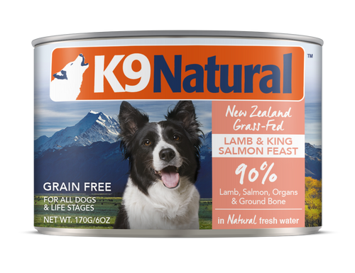 K9 Natural Lamb & Salmon Feast Wet Dog Food