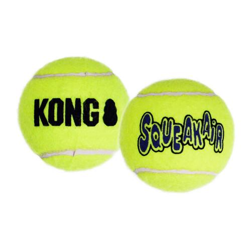 KONG SqueakAir Puppy Small Tennis Ball Dog Toy 3pk