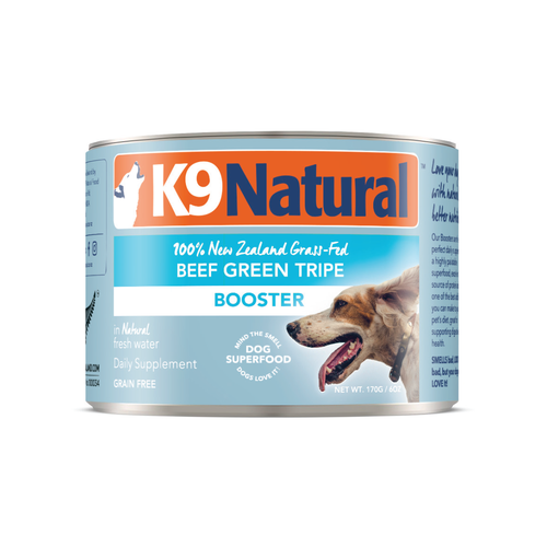 K9 Natural Beef Green Tripe Booster Wet Dog Food
