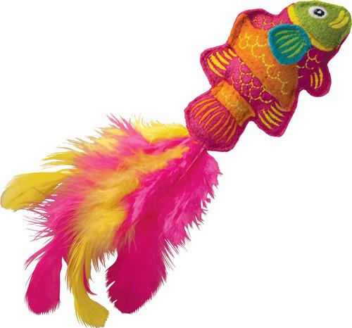KONG Tropics Fish Cat Toy