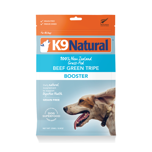 K9 Natural Beef Green Tripe Booster For Dogs