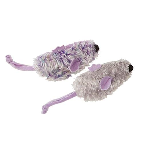 KONG Refillable Mouse Catnip Toy 2pk