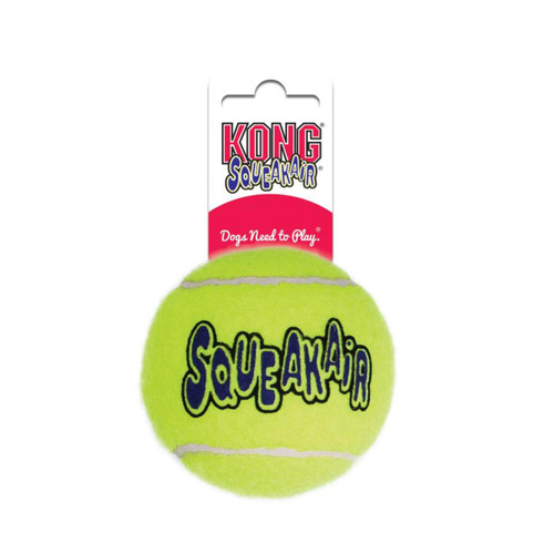 KONG SqueakAir Tennis Ball Dog Toy