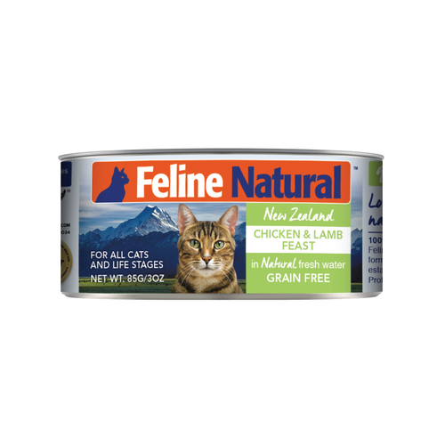Feline Natural Chicken & Lamb Feast Wet Cat Food