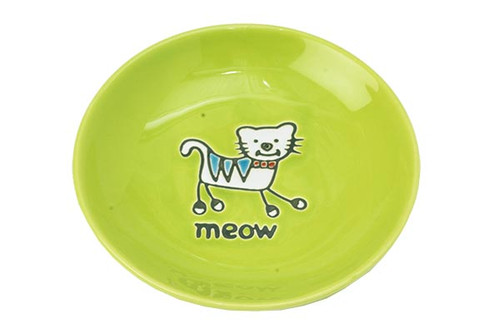 Petrageous Silly Kitty Saucer