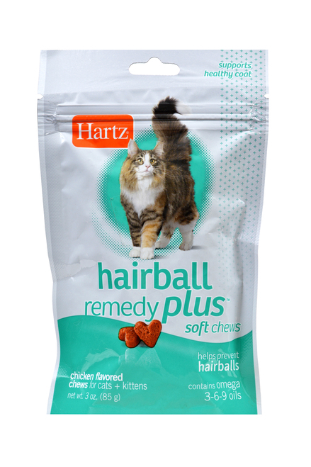 Hartz Hairball Remedy Plus Cat Treats