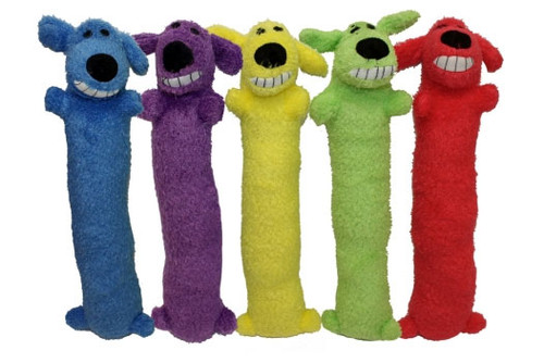 Multipet Loofa Dog Toy Assorted
