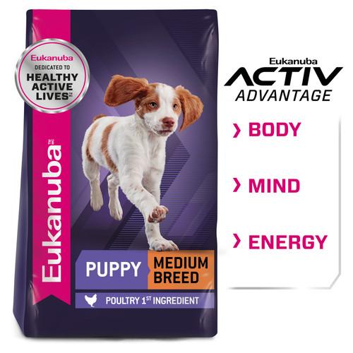 Eukanuba Medium Breed Puppy Dry Dog Food