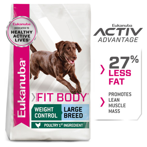 Eukanuba Adult Fit Body Large Breed Dry Dog Food