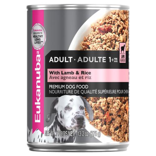 Eukanuba Adult with Lamb & Rice Wet Dog Food Cans