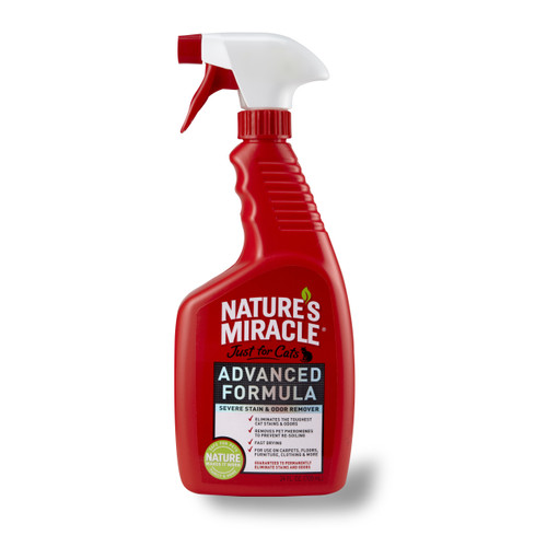 Natures Miracle Advanced Stain & Odour Remover for Cats