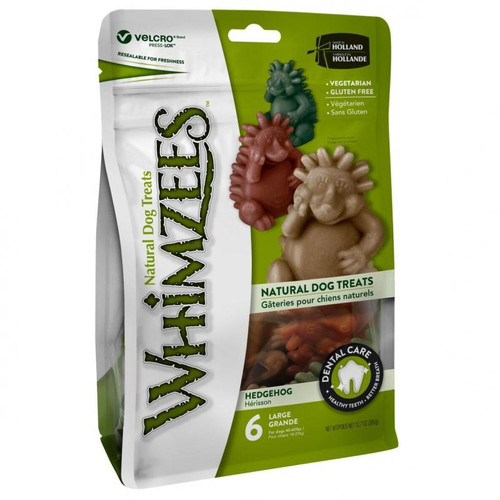 Whimzees Hedgehog Dental Dog Treats