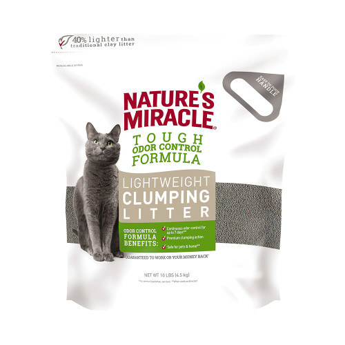 Natures Miracle Lightweight Clumping Clay Litter