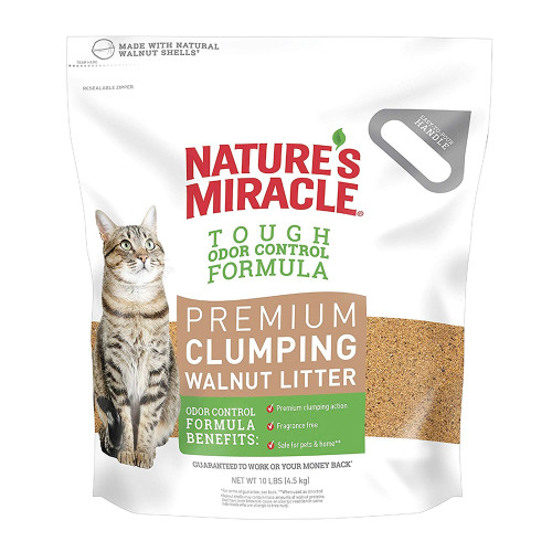 Natures Miracle Premium Walnut Clumping Litter