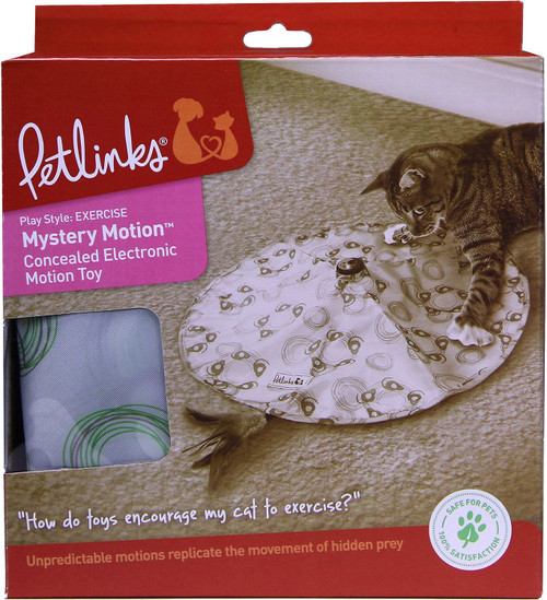 Pet Links Mystery Motion Concealed Electronic Cat Toy