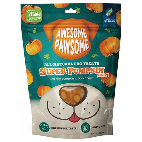 Awesome Pawsome Super Pumpkin Recipe Dog Treats