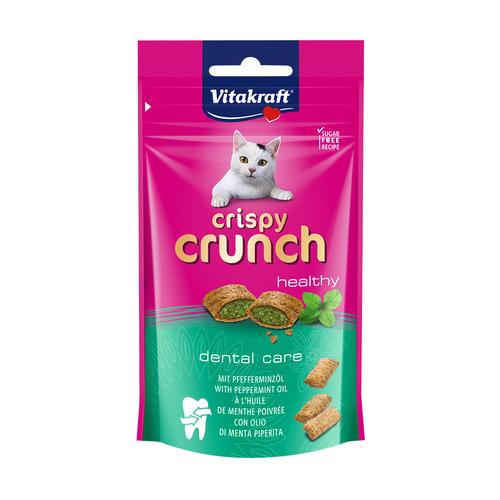 Vitakraft Crispy Crunch Peppermint Dental Cat Treats