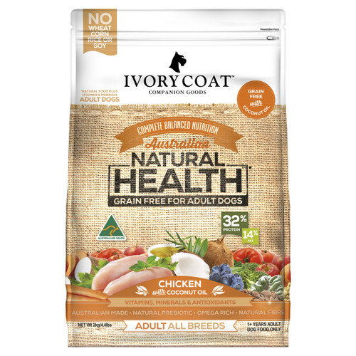 Ivory Coat Adult Chicken & Coconut Oil Dry Dog Food
