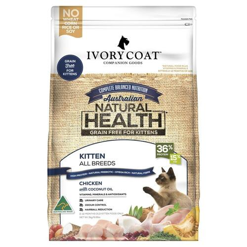 Ivory Coat Kitten Chicken Dry Food