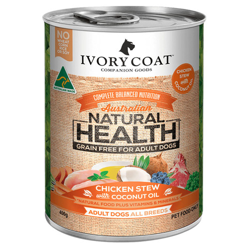 Ivory Coat Chicken Stew with Coconut Dog Food