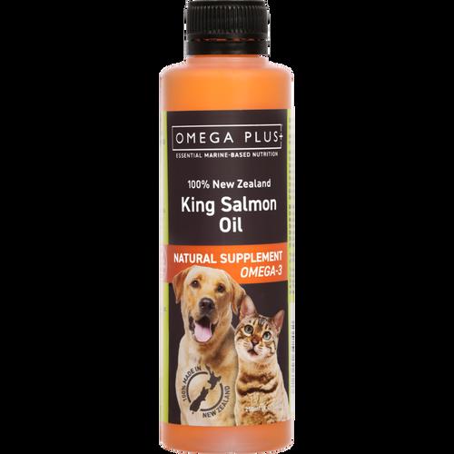Omega Plus King Salmon Oil Dietary Supplement