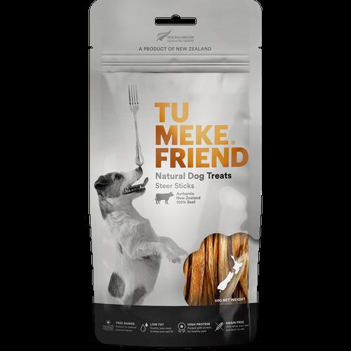 Tu Meke Steer Sticks Dog Treats