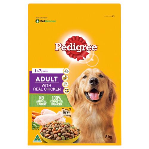 Pedigree Adult Real Chicken Dry Dog Food