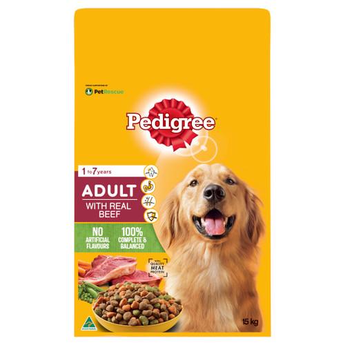 Pedigree Adult Real Beef Dry Dog Food