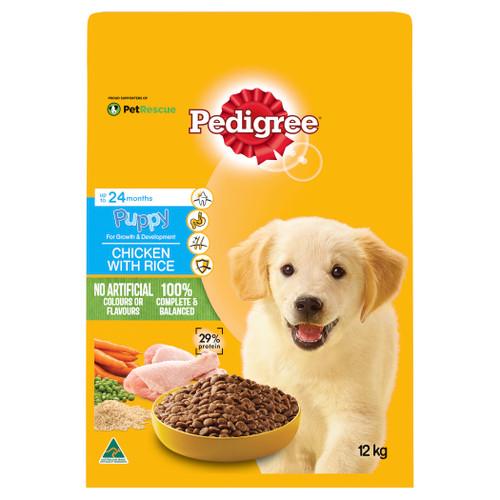 Pedigree Puppy Chicken & Rice Dry Food