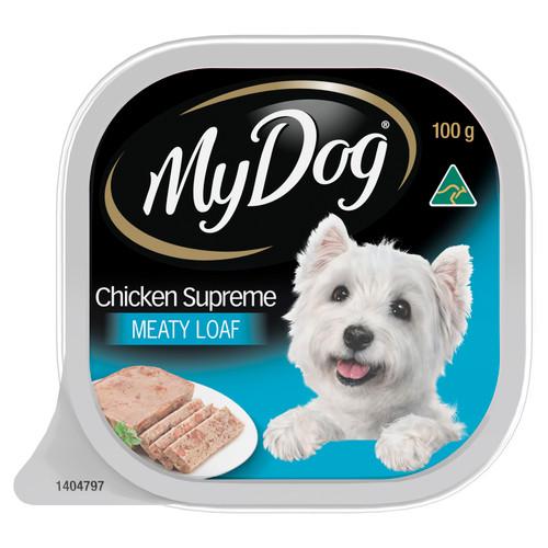 My Dog Wet Dog Food Chicken Supreme Meaty Loaf 100g