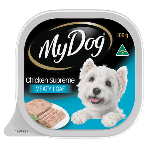 My Dog Wet Dog Food Chicken Supreme Meaty Loaf 100g Tray