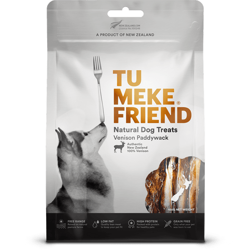Tu Meke Venison Paddywack Dog Treats