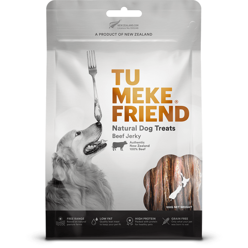 Tu Meke Beef Jerky Dog Treats