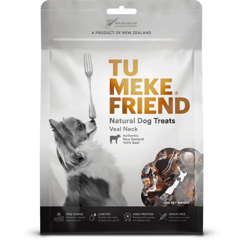 Tu Meke Veal Neck Dog Treats
