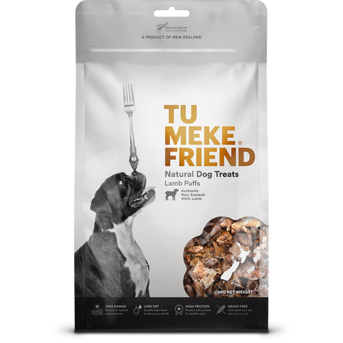Tu Meke Lamb Puffs Dog Treats