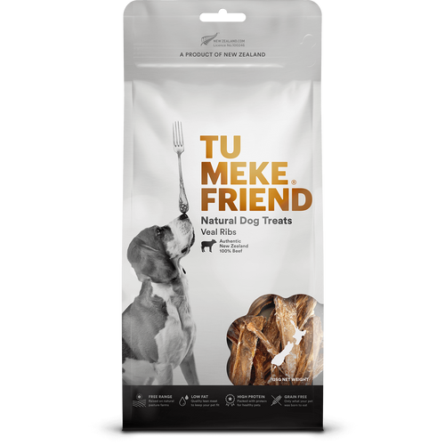Tu Meke Veal Ribs Dog Treats